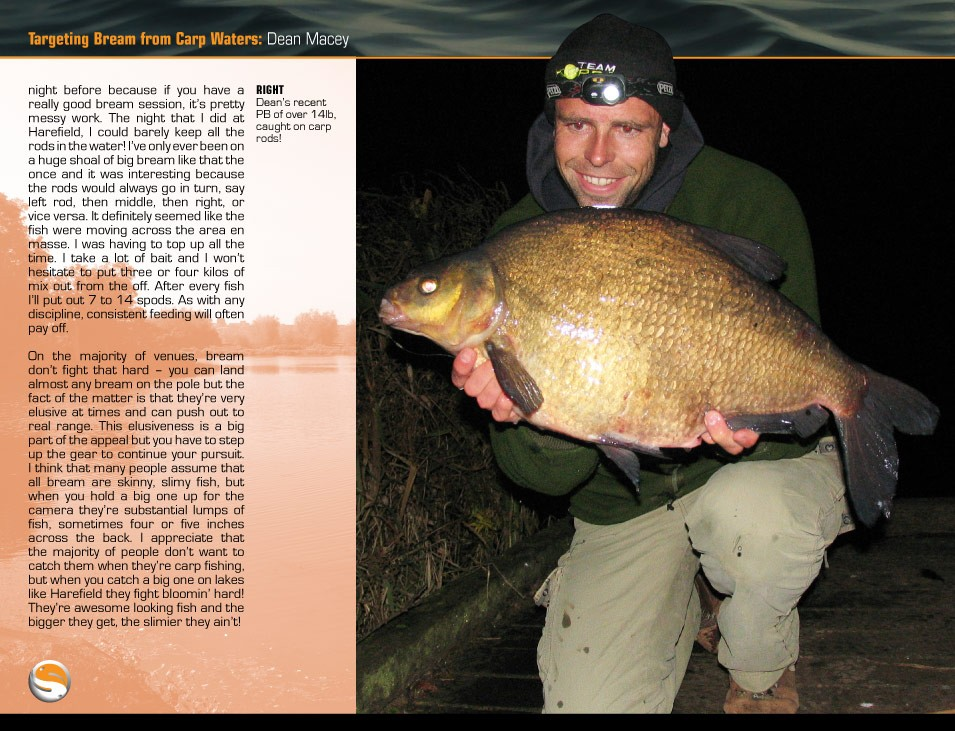 Macey On Bream - Dean Macey