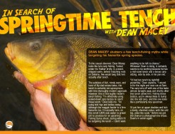 Macey Targets Tench - Dean Macey