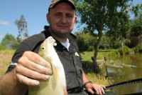 James Cooper is a master of bream fishing