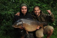Ali and Gaz tackled the Yateley Pads Lake for Thinking Tackle