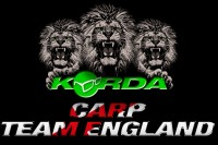 Korda is the new sponsor of Carp Team England