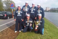 The England A Team took team gold at the Feeder International