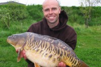 Not the biggest that Dean has caught