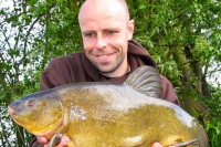 One of 23 tench bagged from a local water