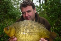One of Shaun's amazing haul of crucians