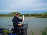 His margin line produced good barbel and carp