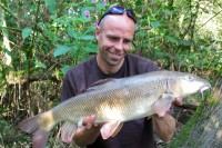 At 12lb 13oz, this huge barbel made the 220-mile trip worth it