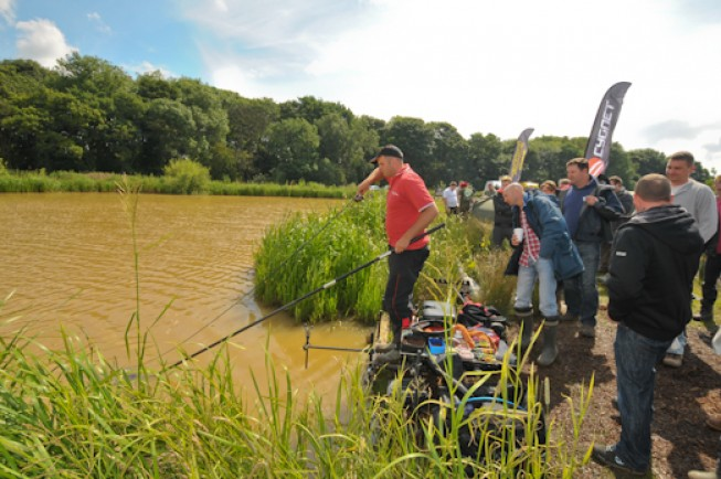 Pop along to Carpfest and you can watch the Gurus in action