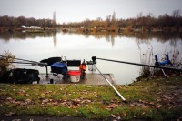 Pemb drew peg 24, an area he knew was good for skimmers