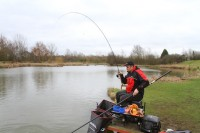 Fishing the method feeder is an art form, especially in winter