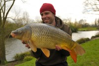 This 20lb common topped the catch for our man