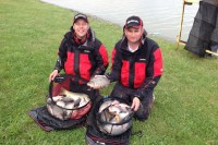 Steve's Daiwa team secured second place