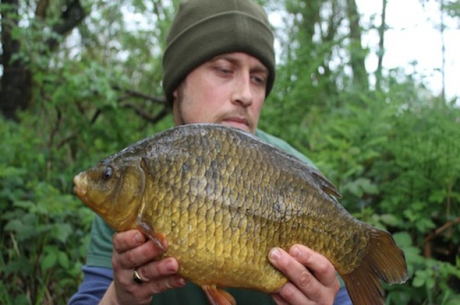 Jim shakes the crucian British record and a new personal best