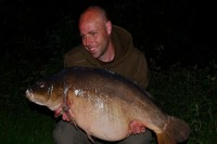 This lovely clean 33lb mirror was the biggest out of three fish