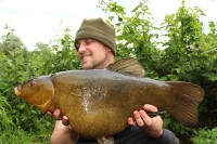 Jims first tench from a new venue