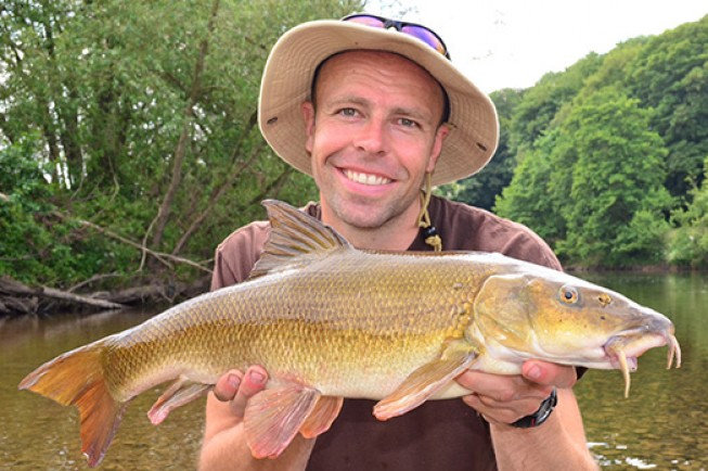 Dean kick started his new season on the River Wye