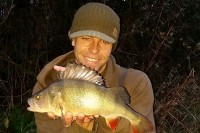 A mint 2lb perch from Dean's last session
