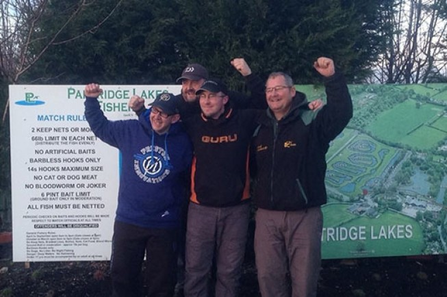 Team Guru won the Partridge Lakes winter league