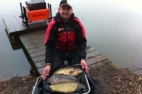Mark Griffiths with his 54lb net