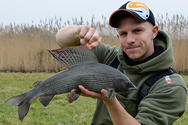 Matt's biggest grayling from his recent sessions