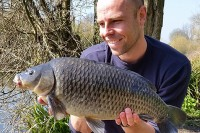 Dean was well pleased with this park lake common