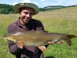 Dean's on the barbel trail again!