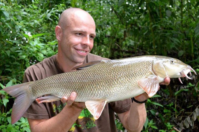 Dean's been on the barbel trail