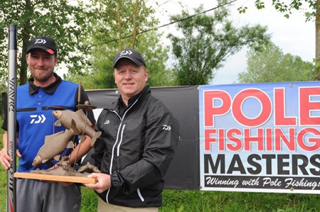 Andy Bennett has retained his Daiwa Pole Masters title