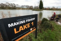 The event will be held at Makins Fishery