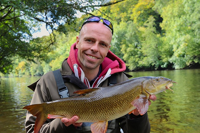 This is why Dean Macey travels to the River Wye