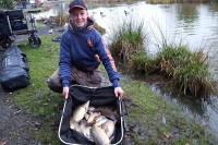 Rob has been having some good results at Partridge recently