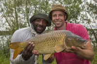 Johnny Nelson wasn't too sure about fishing