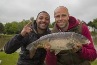 Kell Brook had fished when he was younger