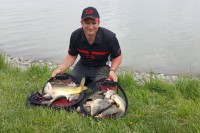 Szeged Rowing Course is full of fish
