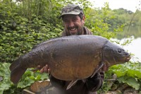 Gary caught 'Cluster' at 40lb10oz