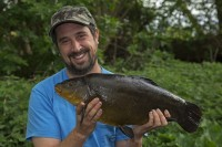 This was a 9lb1oz tench