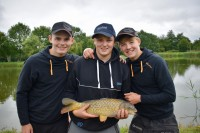 Both young guns put loads of effort into their angling