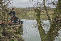 Frankie previously worked and fished for Preston Innovations