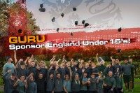 Gure are proud to sponsor the England Under 15s team