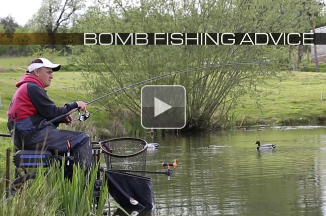 Carp on the bomb fish action carp fishing videos korda for Adam bomb fishing
