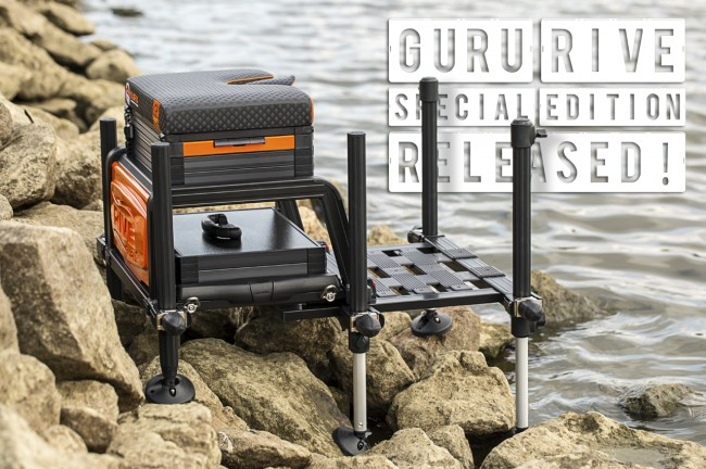 Tackle Guru & Rive team-up to bring the Special Edition Seatbox!