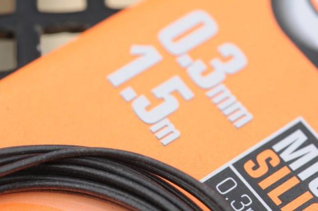 GURU MICRO SILICONE TUBE 0.3mm BORE